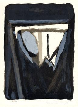 Van Velde Bram : Lithographie originale : Composition I