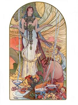 Mucha Alphonse : L'estampe Moderne Illustrated books and prints