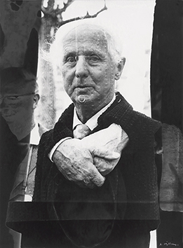 Original signed photograph de  : Portrait of Max Ernst