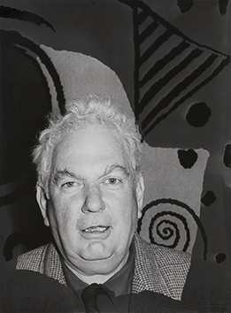 Original signed photograph de  : Portrait of Alexander Calder