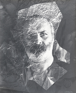 Original signed photograph de  : Portrait of Arman