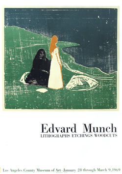 Munch Edvard : Poster : Two women on the shore