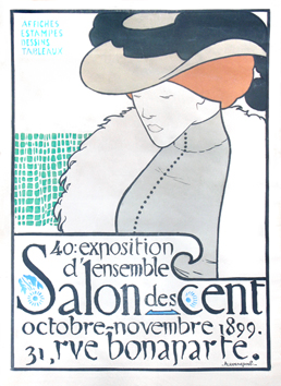 Plakat de Evenepoel Henri : Salon des Cent