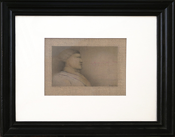 Original signed drawing de  : Character in profile