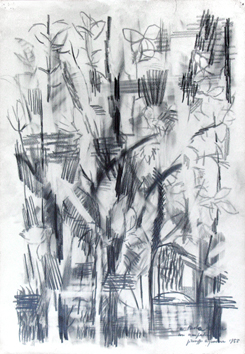 Original signed drawing de  : Landscape