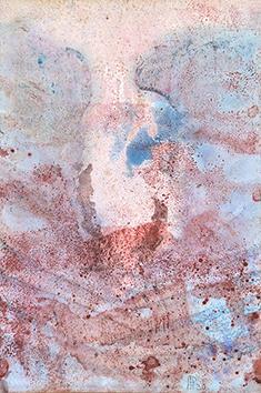 Aquarelle originale signée de  : Composition abstraite II