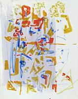 Original gouache de  : Composition VI