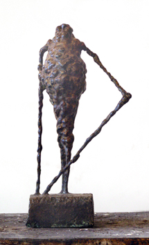 Original signed bronze de  : Racine I