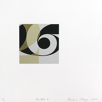 Original signed monotype de Clancy Pauline : Glyph 6