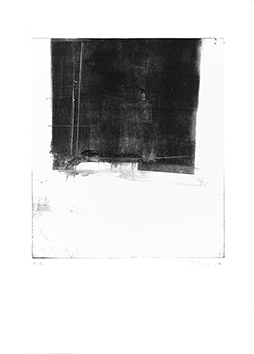 Original signed monotype de Zappalà Rocco : Without title II