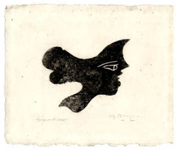 Original etching de  : Head I