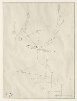 Calder Alexander :  : Etude pour un mobile II