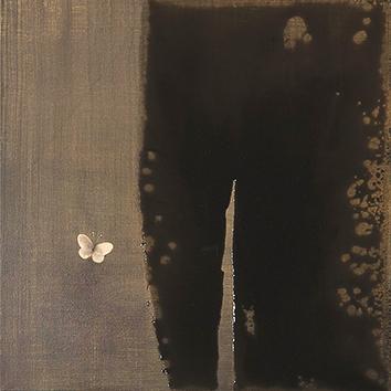 Peinture originale signée de  : Ombres et murmures