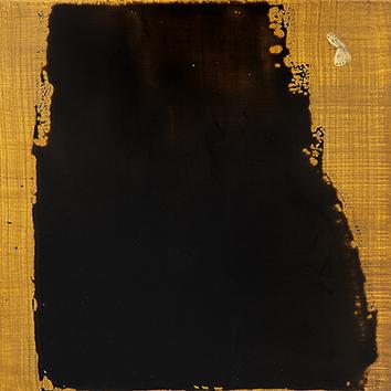 Peinture originale signée de  : Soir clairière