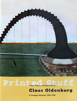 Livre illustré de  : Printed Stuff. Prints, Posters and Ephemera 1958-1996