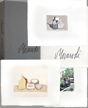 Morandi Giorgio : Illustrated book : Tribute to Morandi