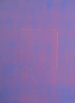 Oeuvre unique signée de  : UNHL - Violet II