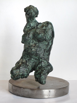 Original signed bronze de  : Nude