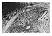 Original signed engraving de  : Storm at Saint-Honoré
