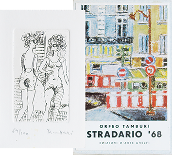 Book with etching de  : Stradario '68
