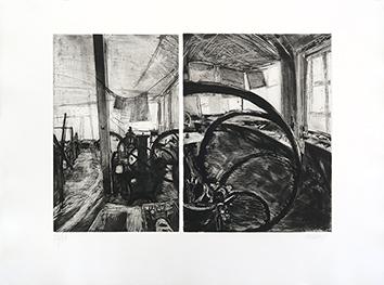 Gravure originale signée de  : Atelier Lacourière-Frélaut