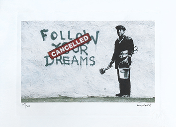 Estampe de  : Follow your dreams - Cancelled