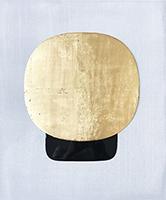 Signierte originale Öl-Malerei de  : Fusion métal 7