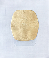 Signierte Original-Malerei de  : Fusion métal 8