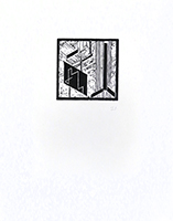Original woodcut de Kupka Frantisek : Four Stories of White & Black VI (Plate 21)