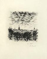 Incisione originale firmata de  : Le cahier vert - In Texte, Planche 34, 2ème état