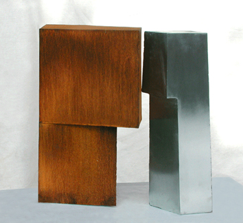 Signed sculpture de  : Traverse d'ombre 15