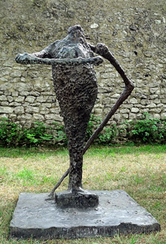 Original signed bronze de  : Lucréce