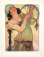 Originale Lithographie de  : Salomé II