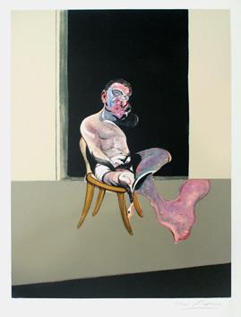 Bacon Francis : Lithographie signée : Triptyque 72 (Francis Bacon)