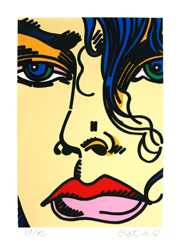Original signed screenprint de  : Nora
