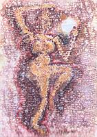 Aquarelle originale signée de  : Composition abstraite XVIII