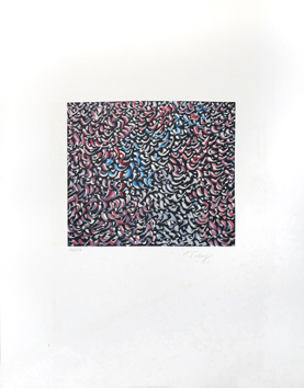 Tobey Mark : Original signed lithograph : Composition II