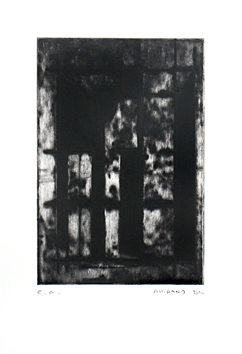 Original signed etching de  : Composition without title XVI