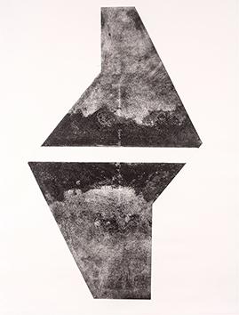 Gravure originale signée de  : Composition a1