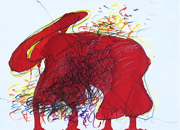 Oeuvre unique de  : Elephant