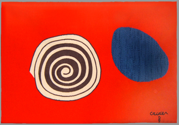 Calder Alexander : Tapisserie : Bicentenaire révolution américaine