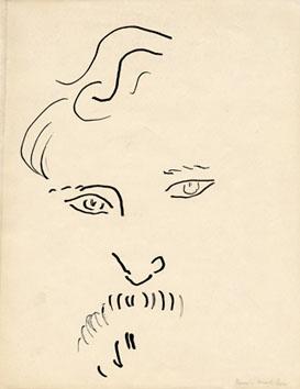 Matisse Henri : Reproduction typographique : Portrait de Melchers