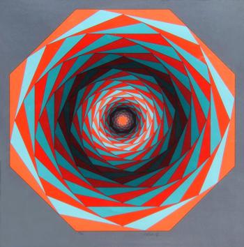 Vasarely Victor : Sérigraphie originale : Composition A