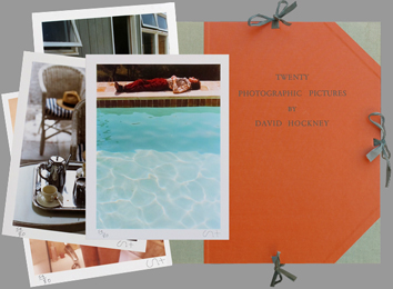Signed photographs de  : Twenty photographic pictures by David Hockney