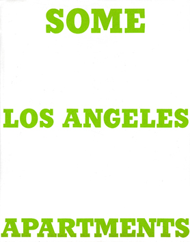 Livre illustré de  : Some Los Angeles Apartments