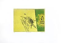 Original signed etching de  : Paso americano