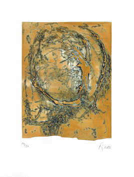 Signed etching de  : Raga I