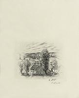 Gravure originale signée de  : Le cahier vert - Fin de Chapitre, Planche 31