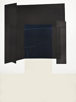 Gravure originale signée de  : Miroir noir - T2