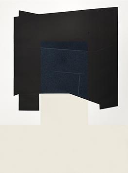 Gravure originale signée de  : Miroir noir - T8